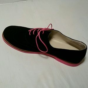 BP. Black Suede Leather Shoe. 9M